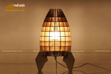 Thế giới đèn gỗ - Đèn gỗ trang trí để bàn TGDG-09