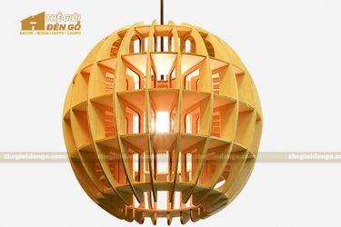 Thế giới đèn gỗ - Đèn gỗ trang trí cầu khối