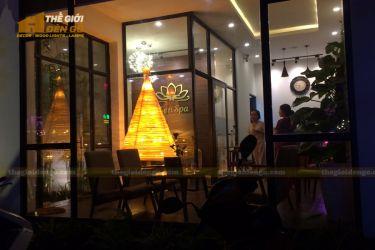 Thế Giới Đèn Gỗ - Đèn gỗ trang trí cây thông