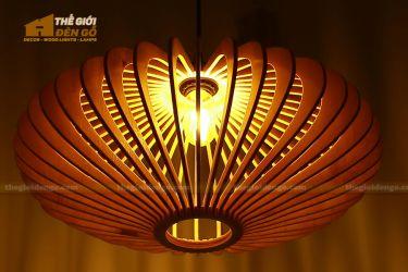 Thế Giới Đèn Gỗ - Đèn gỗ trang trí đĩa bay