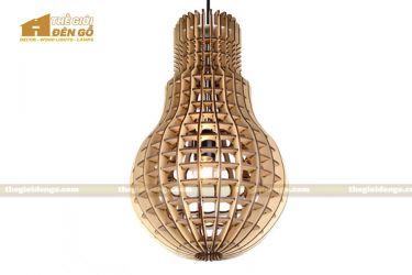 Thế giới đèn gỗ - Đèn gỗ trang trí Grenade 1