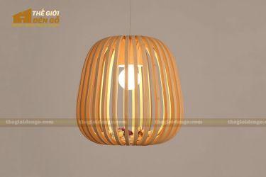 Thế giới đèn gỗ - Đèn gỗ trang trí mận rừng 2