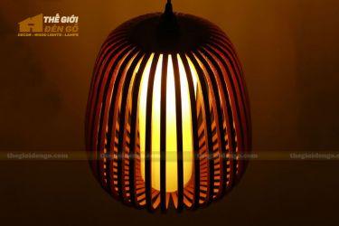 Thế giới đèn gỗ - Đèn gỗ trang trí mận rừng