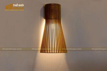 Thế giới đèn gỗ - Đèn gỗ trang trí treo tường DGW001