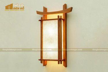 Thế giới đèn gỗ - Đèn gỗ trang trí treo tường DGW016