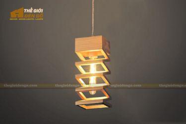 Thế giới đèn gỗ - Đèn gỗ trang trí Zigzag