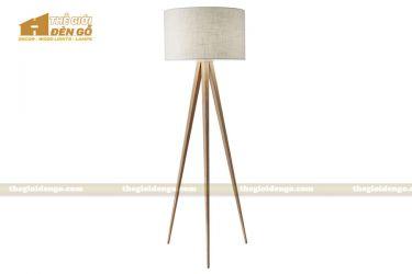 Thế Giới Đèn Gỗ - Đèn gỗ trang trí để sàn DGS002