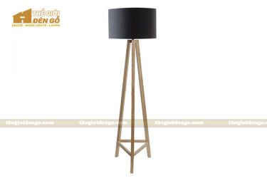 Thế Giới Đèn Gỗ - Đèn gỗ trang trí để sàn DGS005