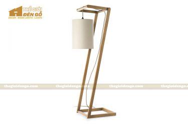 Thế Giới Đèn Gỗ - Đèn gỗ trang trí để sàn DGS006