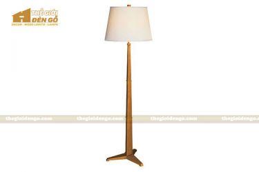Thế Giới Đèn Gỗ - Đèn gỗ trang trí để sàn DGS011