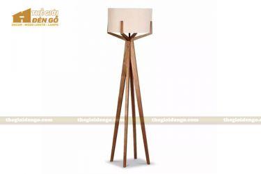 Thế Giới Đèn Gỗ - Đèn gỗ trang trí để sàn DGS014