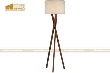 Thế Giới Đèn Gỗ - Đèn gỗ trang trí để sàn DGS017