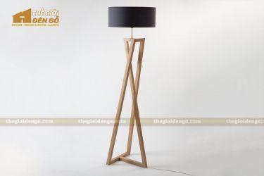 Thế Giới Đèn Gỗ - Đèn gỗ trang trí để sàn DGS020
