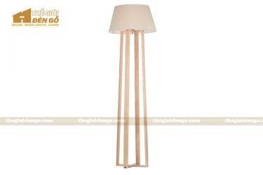 Thế Giới Đèn Gỗ - Đèn gỗ trang trí để sàn DGS022