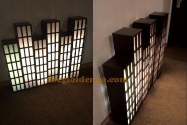 Thế Giới Đèn Gỗ - Hộp đèn gỗ DG107
