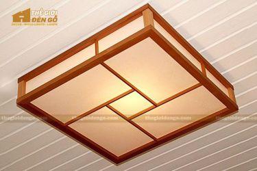 Thế Giới Đèn Gỗ - Hộp đèn gỗ DG118