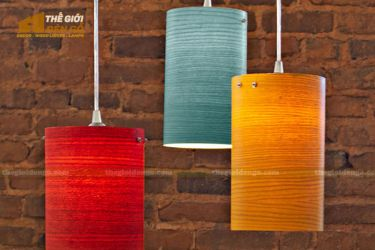 Thế Giới Đèn Gỗ - Đèn gỗ trang trí veneer dgvn105