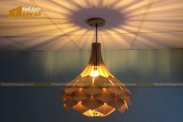 Thế Giới Đèn Gỗ - Đèn gỗ trang trí dg275