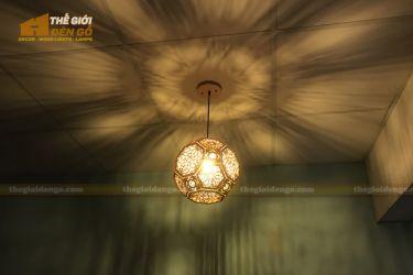 Thế Giới Đèn Gỗ - Đèn gỗ trang trí DG289