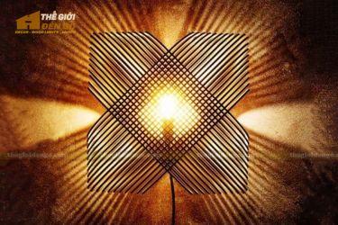 Thế Giới Đèn Gỗ - Đèn gỗ trang trí dg293-5