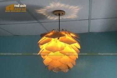 Thế Giới Đèn Gỗ - Đèn gỗ trang trí dg294-4