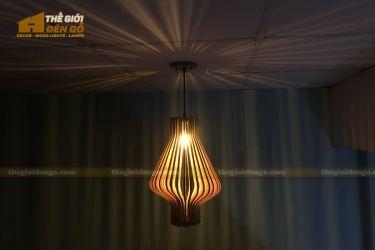 Thế Giới Đèn Gỗ - Đèn gỗ trang trí dg295