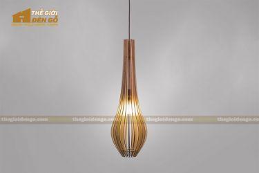Thế Giới Đèn Gỗ - Đèn gỗ trang trí DG298