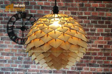 Thế Giới Đèn Gỗ - Đèn gỗ trang trí DG299