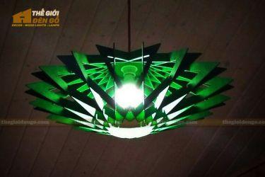Thế Giới Đèn Gỗ - Đèn gỗ trang trí DG300