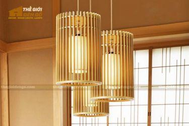 Thế Giới Đèn Gỗ - Đèn gỗ trang trí dg302