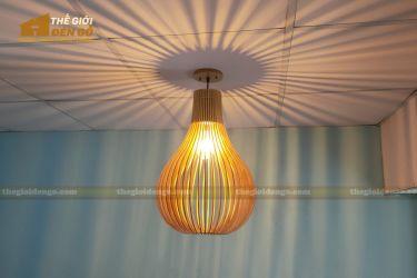 Thế Giới Đèn Gỗ - Đèn gỗ trang trí dg303 - 3
