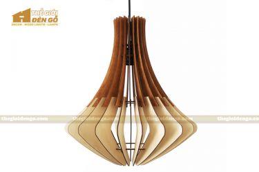 Thế Giới Đèn Gỗ - Đèn gỗ trang trí dg305