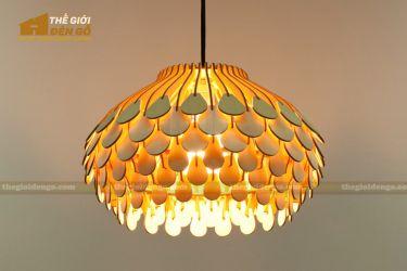Thế Giới Đèn Gỗ - Đèn gỗ trang trí dg307