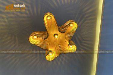 Thế Giới Đèn Gỗ - Đèn gỗ trang trí dg310
