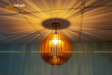 Thế Giới Đèn Gỗ - Đèn gỗ trang trí dg313