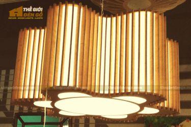 Thế Giới Đèn Gỗ - Đèn gỗ trang trí dg314