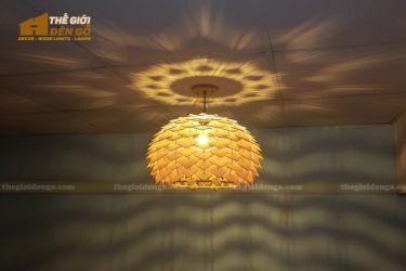 Thế Giới Đèn Gỗ - Đèn gỗ trang trí dg316
