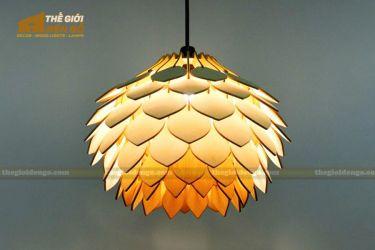 Thế Giới Đèn Gỗ - Đèn gỗ trang trí dg318