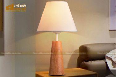 Thế Giới Đèn Gỗ - Đèn gỗ trang trí để bàn DGB027