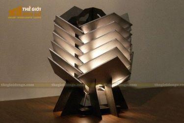 Thế giới đèn gỗ - Đèn gỗ trang trí để bàn TGDG-14