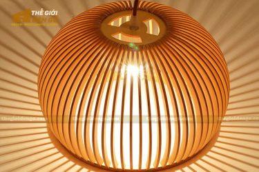 thegioidengo.com - Đèn gỗ trang trí bát tròn 2