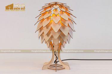 Thế Giới Đèn Gỗ - Đèn gỗ trang trí để bàn DGB033