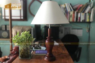 Thế Giới Đèn Gỗ - Đèn gỗ trang trí để bàn DGB021