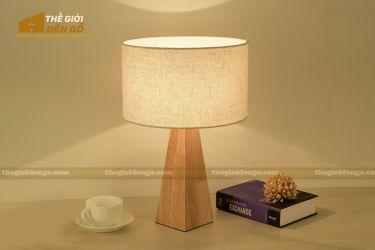 Thế Giới Đèn Gỗ - Đèn gỗ trang trí để bàn DGB025
