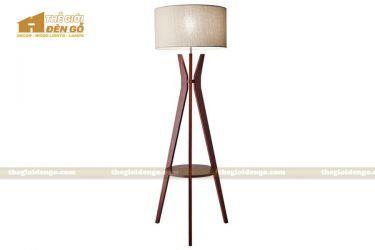 Thế Giới Đèn Gỗ - Đèn gỗ trang trí để sàn DGS027