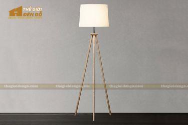 Thế Giới Đèn Gỗ - Đèn gỗ trang trí để sàn DGS028