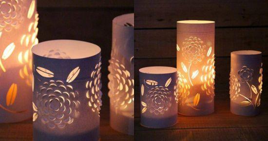 Thế Giới Đèn Gỗ - Hướng dẫn làm đèn trang trí handmade tuyệt đẹp từ giấy