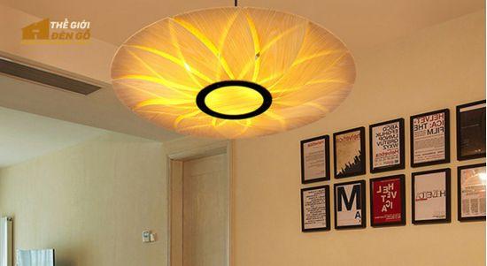 Thế Giới Đèn Gỗ - 8 mẫu đèn trang trí gỗ cho phòng ăn đẹp lung linh