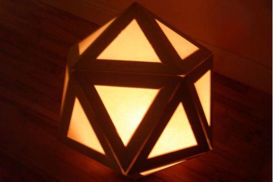 Hướng dẫn làm đèn ngủ handmade từ que kem gỗ