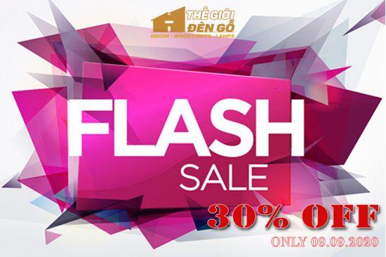 Thế Giới Đèn Gỗ - Flash sale ngày 09-09-2020